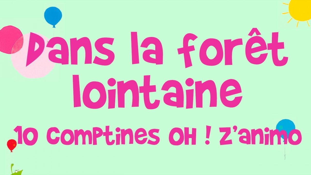 Steve Waring Dans La Forêt Lointaine Oh Z Animo 10 Comptines Pour Enfant