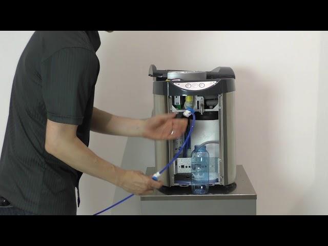 Evopure TT - Remplissage du banc de glace