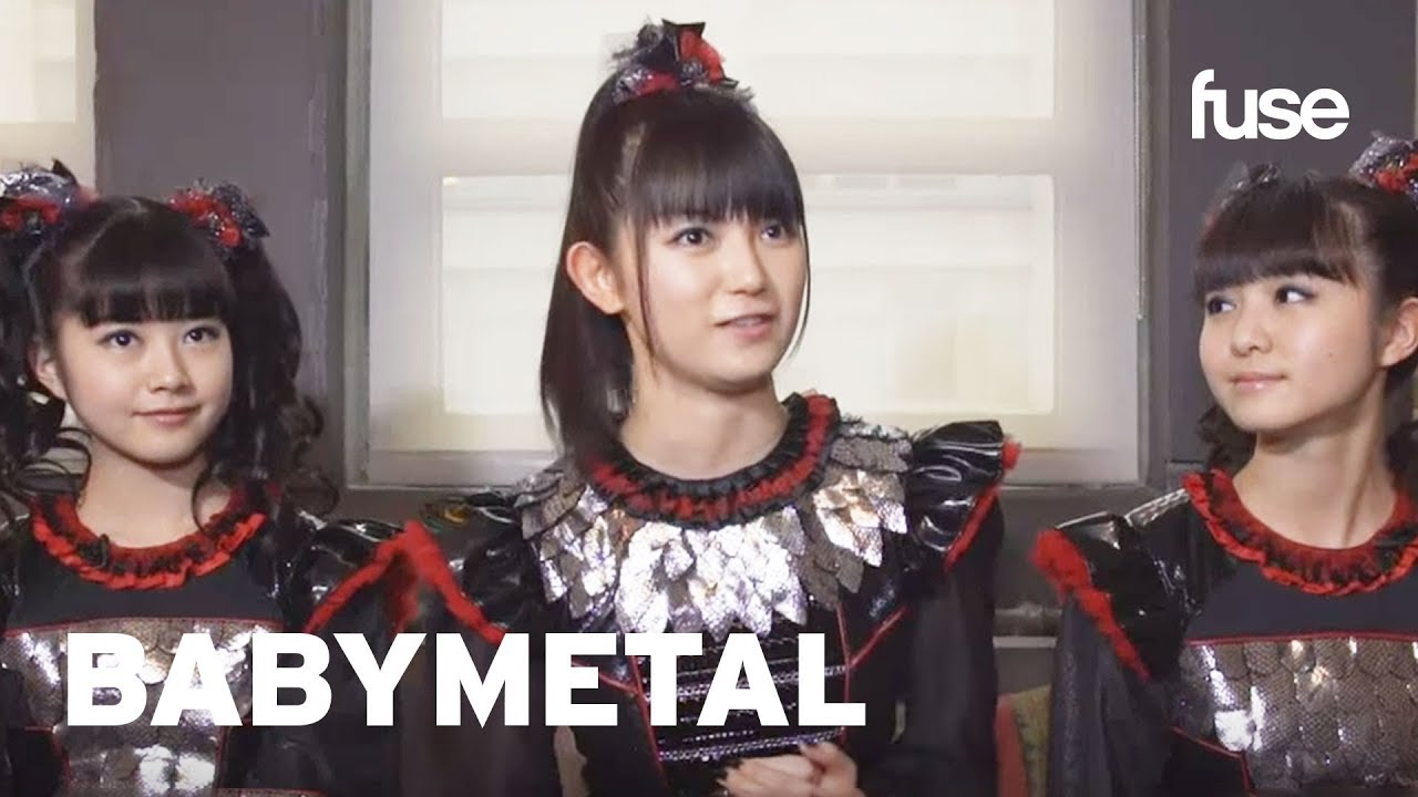 Babymetal Discuss Their First Performance Ever | Fuse ...