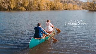 Camp Wedding in North Carolina Mountains // Catherine & Peter