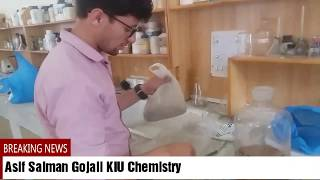 Researcher Asif Salman Gojali busy on research