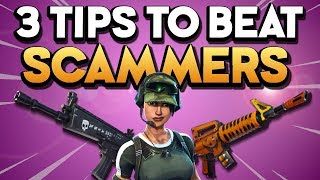 3 Tips to BEAT THE *SCAMMERS* and not get SCAMMED in Fortnite Save the World PVE