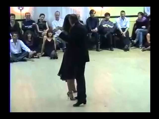 Gavito & Maria in 'Bordoneo y 900' by Color Tango, http://prishepov.ru, archive video, tango Travel Video