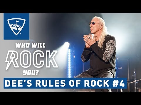 Who Will Rock You | Season 2: Episode 5 - Dee Snider: How To Create The Perfect Rock Stage | Topgolf