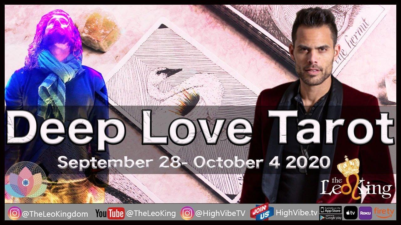 Deep Love Weekly Tarot Sep 28- Oct 4 2020: Full Moon in Aries, Saturn & Pluto Direct, Venus Virgo