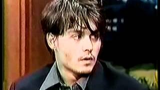 Johnny Depp (Jay Leno - Nick of Time Interview)