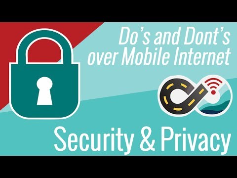 Security & Privacy Do's and Don'ts Over Mobile Internet
