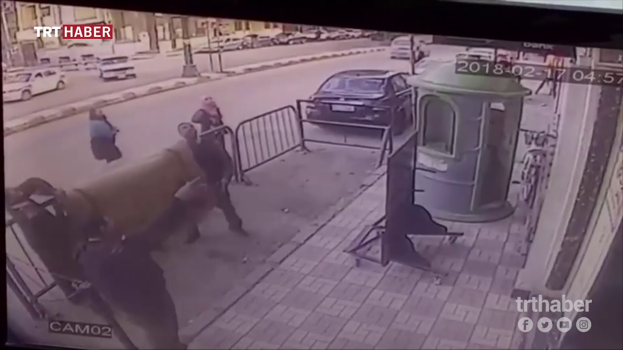 Balkondan düşen çocuğu güvenlik görevlisi kurtardı