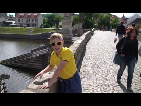 In Písek, cross the oldest bridge in the Czech lands!