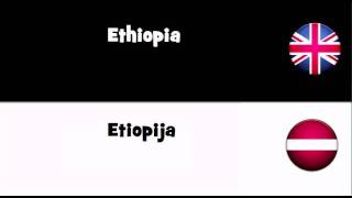 SAY IT IN 20 LANGUAGES = Ethiopia