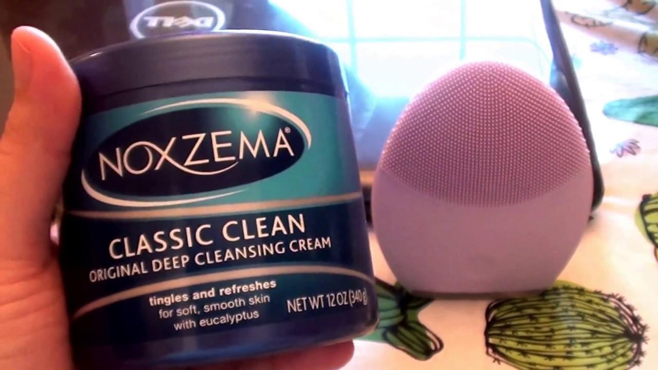 How To Use Noxzema >> Noxzema Classic Clean Original Deep Cleansing Cream Face Review