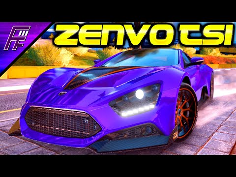 THE FORGOTTEN SLIPSTREAMER! Zenvo TS1 (4* Rank 3958) Asphalt 9 Multiplayer