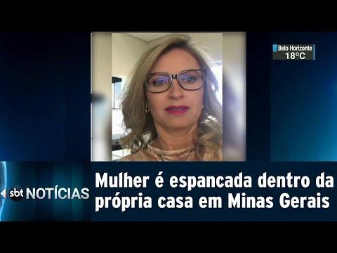Ex-companheiro é suspeito de mandar matar mulher em Minas Gerais | SBT Notícias (09/08/18)
