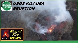 USGS Talks about REAL concerns about Kilauea Volcano Status (August 15,2018)