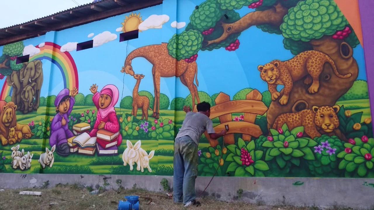 Lukisan Dinding Mural Original Kota Probolinggo By Ganesha