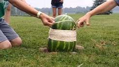 Watermelon+400 rubber bands