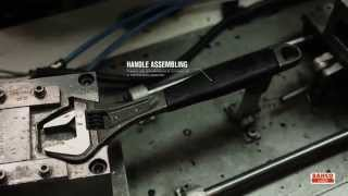 Bahco adjustable wrench manufacturing process