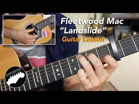 "Fleetwood Mac ""Landslide"" - Acoustic Fingerstyle Guitar Lesson"