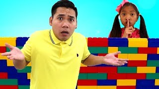 Johny Johny Yes Papa Story | Wendy Pretend Play Hiding from Homework Kids Video