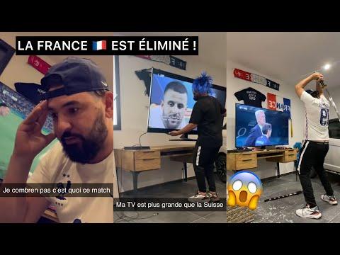FRANCE ÉLIMINÉ CONTRE LA SUISSE ! Mohamed Henni EST UN CHAT NOIR !