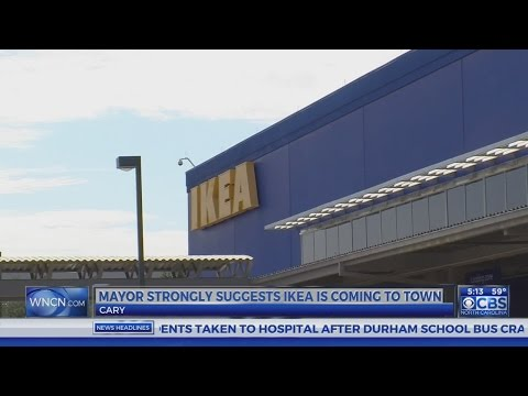 Cary mayor's blog post fuels IKEA speculation