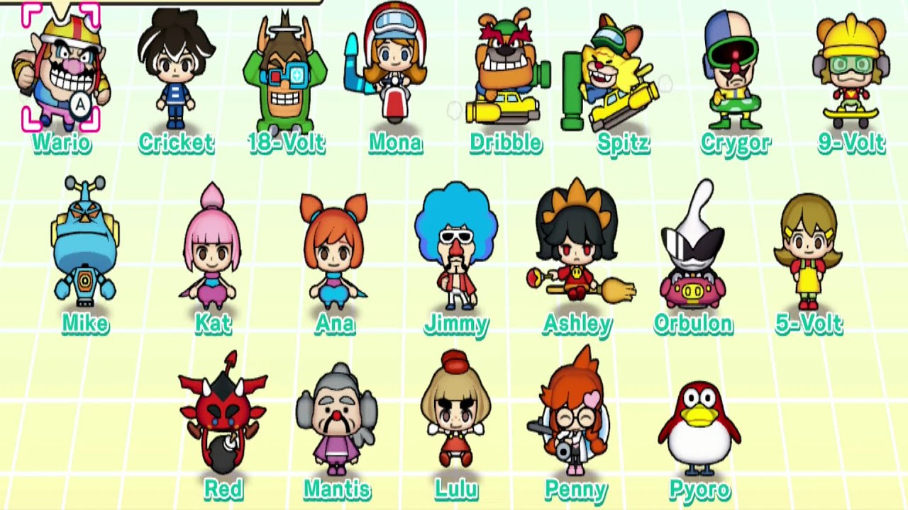 WarioWare: Get It Together - All Character's Special Abilities