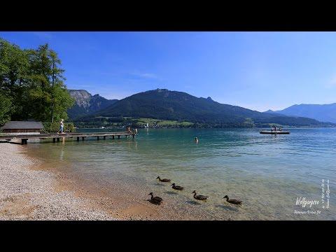 Вольфганг - озеро и город в Австрии