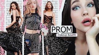 Макияж и наряд на выпускной 〡 Prom makeup & outfit