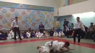 Мектепбаев Даян. Дзюдо (7 лет, 38 кг)Борец с синим поясом