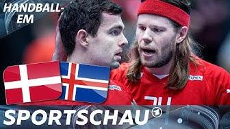 Weltmeister Dänemark patzt: Niederlage gegen Island   Handball-EM   Sportschau