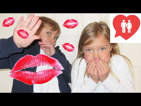 KIDS REACT TO KISSING AND DATING!