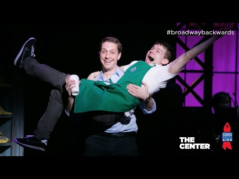 "Andrew Keenan-Bolger - ""The History of Wrong Guys"" Broadway Backwards 2014"