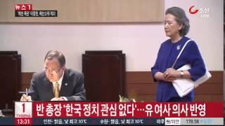 반기문 총장 부인,
