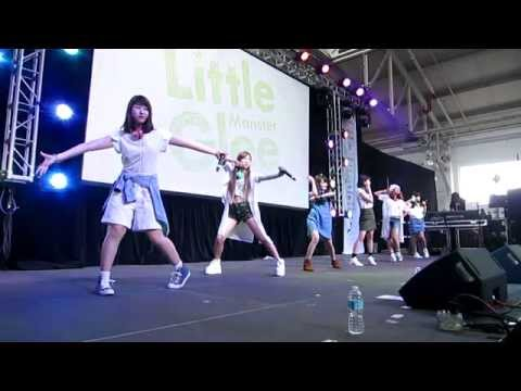 Little Glee Monster Day 1 performance at J-POP Summit 2015