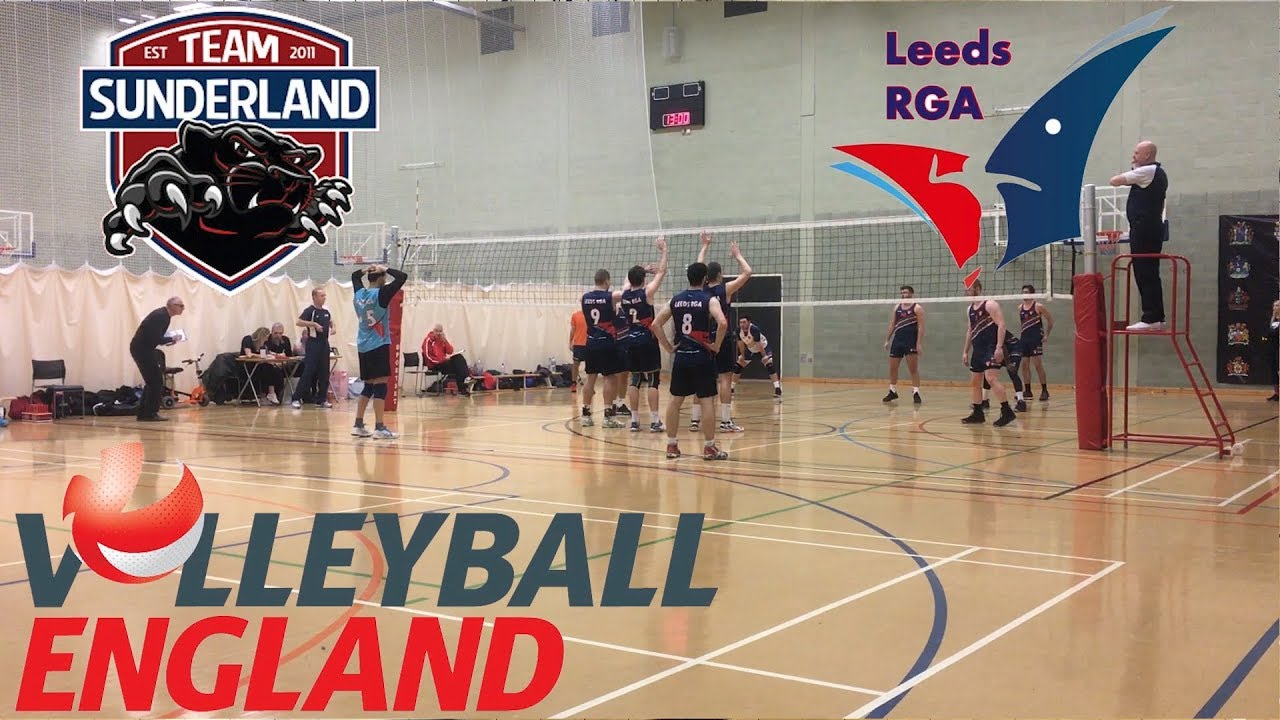 Team Sunderland Vs. Leeds RGA Volleyball Game