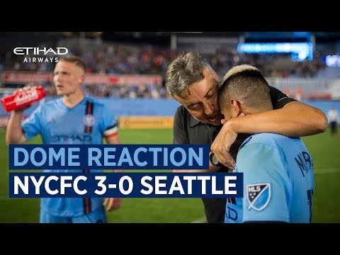 DOME REACTION | NYCFC 3-0 Seattle