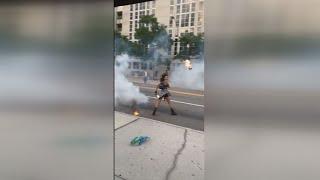 Violence erupts during Jacksonville protests
