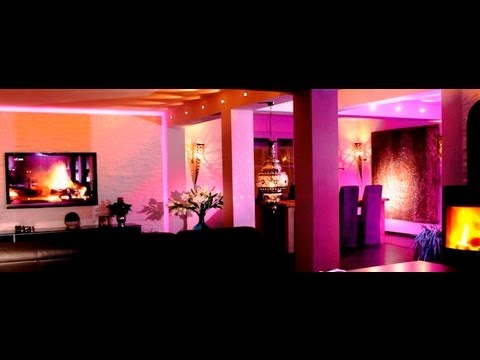 Luxus Raumdesign Tv Wand Led Küche Interior Licht Design by ...