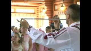 """Веселі Галичани"" Wedding In Western Ukraine: Pipe Fun"