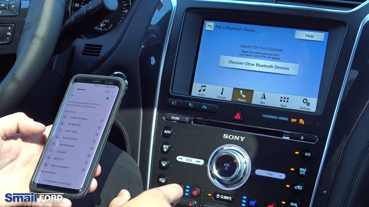 How To Connect Your Phone To Your Ford With Android Auto Youtube