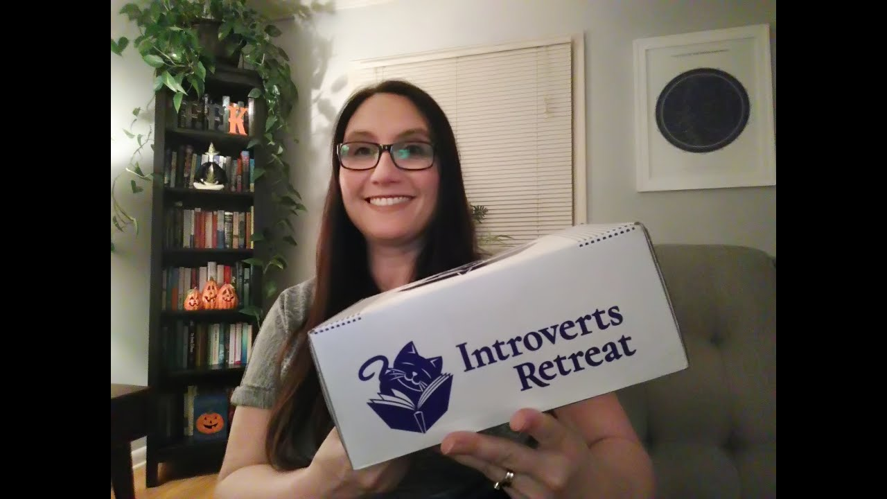 Introverts Retreat Book Box Unboxing / October 2018 - YouTube