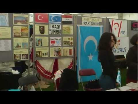 Iraqi Turkmen Stand At The Anatolian Festival London 2012