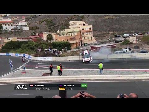 Rally Islas Canarias 2017 - CRASH NIKOLAY GRYAZIN