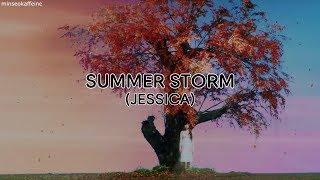 Jessica (제시카) - Summer Storm (Rom/Han/Eng  Lyrics)