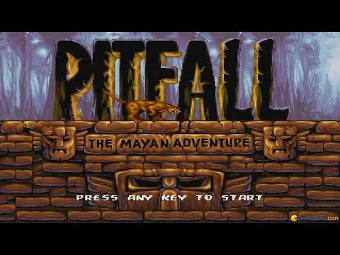 Pitfall Mayan Adventure gameplay (PC Game, 1994) thumbnail