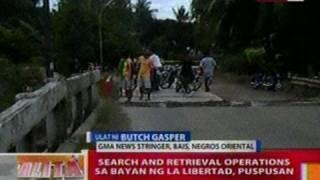 BT: Search and retrieval ops sa bayan ng La Libertad, Negros Oriental, puspusan