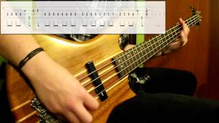 Sex Bob-Omb - Threshold (Bass Cover) (Play Along Tabs In Video)