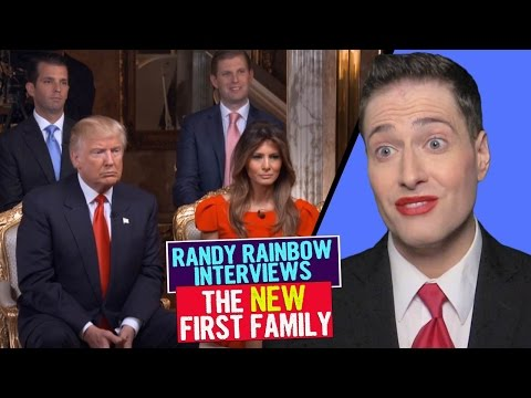 Randy Rainbow Interviews the New First Family!
