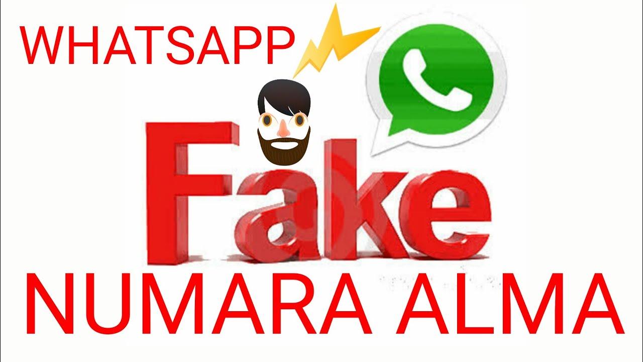 WhatsApp Fake Numara Nasıl Alınır? Ücretsiz 2018 - Karşı tarafa numara göstermeme /  Güncel