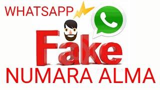 WhatsApp Fake Numara Nasıl Alınır? Ücretsiz 2019 whatsapp sahte numara